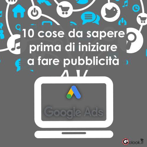 fare pubblicità su google ads consigli
